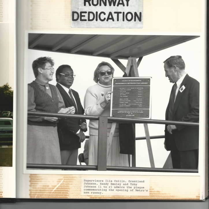 20th Birthday Terminal A Runway Dedication - 1987