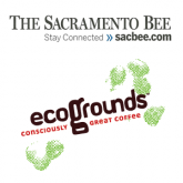 Image of Sacramento Bee & ecoGrounds logo