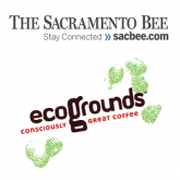 Image of Sac Bee & EcoGrounds Coffee logo