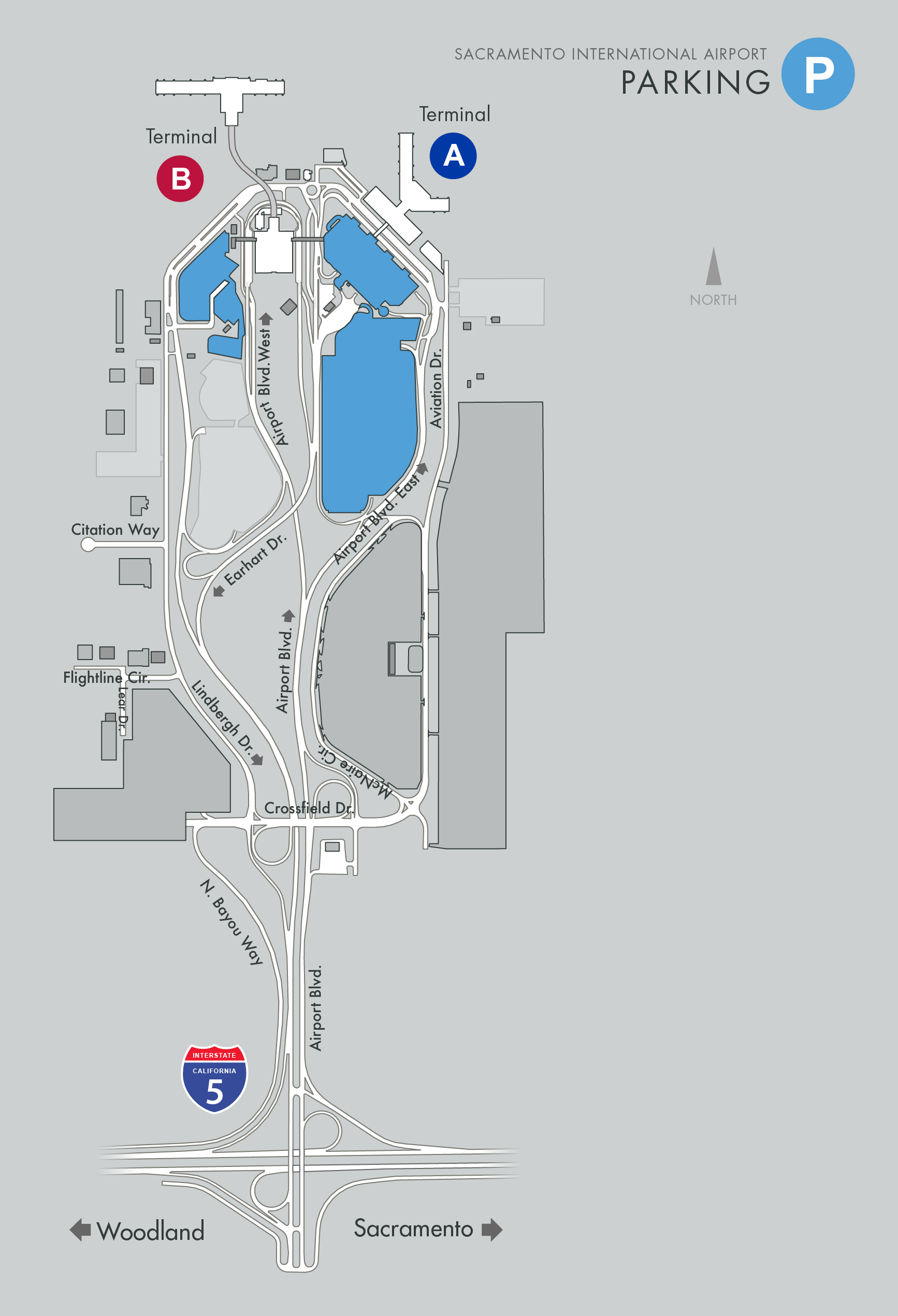 map of sacramento airport Smf Maps map of sacramento airport