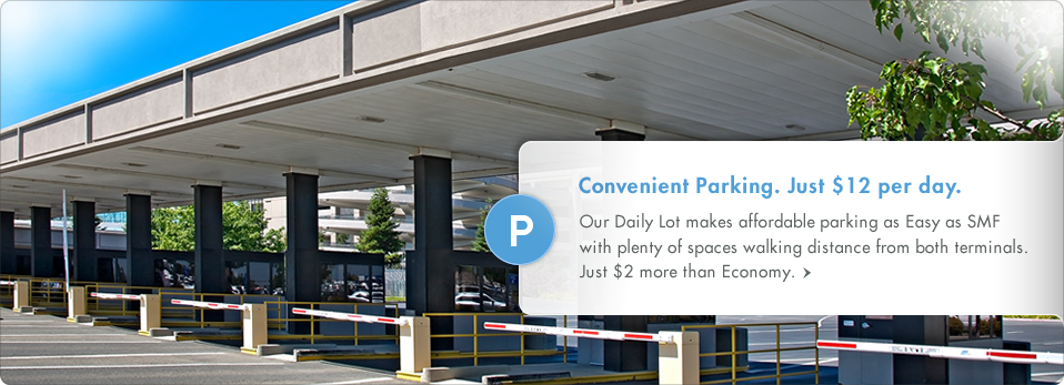 Convenient Parking. Just $12 per day. (September Release)