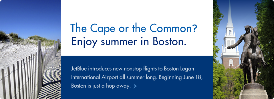 JetBlue Boston Service Announcement