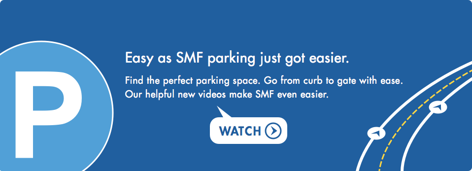 Easy as SMF parking just got easier.