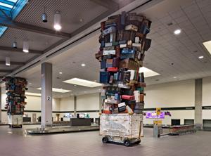 Terminal A baggage claim area